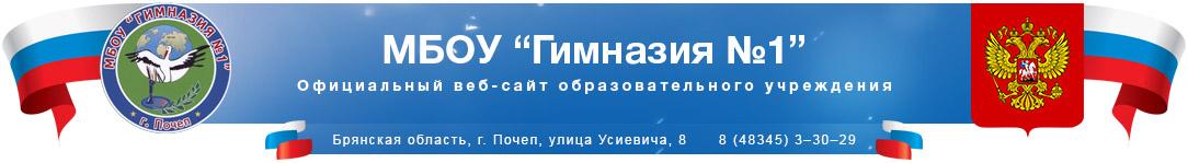 Гимназия №1. г.Почеп. Брянская область